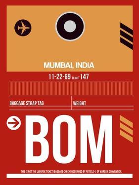BOM Mumbai Luggage Tag II by NaxArt
