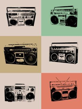 Boom Box Poster by NaxArt
