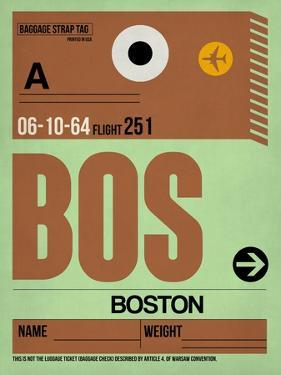 BOS Boston Luggage Tag 1 by NaxArt