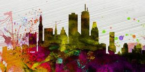 Boston City Skyline by NaxArt