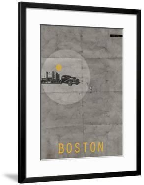 Boston Poster by NaxArt