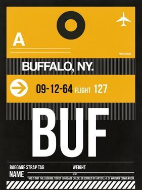 BUF Buffalo Luggage Tag II by NaxArt