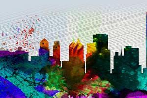 Buffalo City Skyline by NaxArt