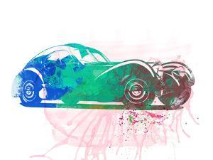 Bugatti Atlantic Watercolor 1 by NaxArt