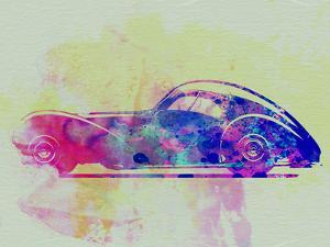 Bugatti Atlantic Watercolor 3 by NaxArt