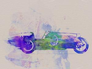 Bugatti Type 35 R Watercolor 2 by NaxArt