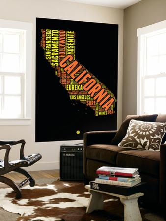 California Word Cloud 1 by NaxArt