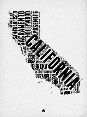 California Word Cloud 2 by NaxArt