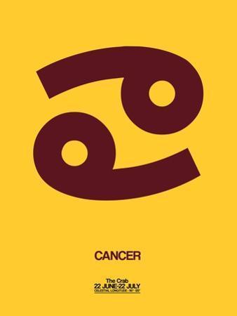 Cancer Zodiac Sign Brown by NaxArt