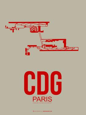 Cdg Paris Poster 2 by NaxArt