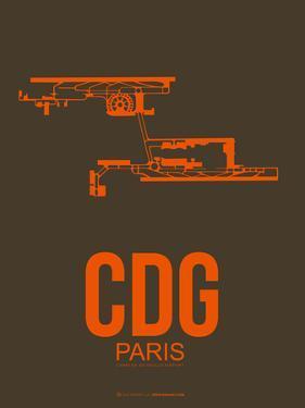 Cdg Paris Poster 3 by NaxArt