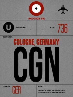 CGN Cologne Luggage Tag I by NaxArt