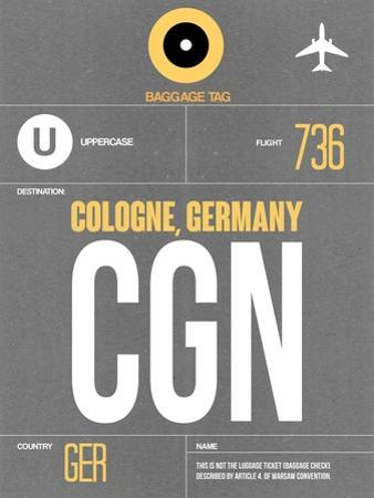 CGN Cologne Luggage Tag II