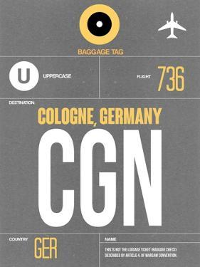 CGN Cologne Luggage Tag II by NaxArt