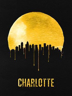 Charlotte Skyline Yellow by NaxArt