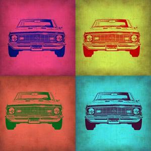 Chevy Camaro Pop Art 1 by NaxArt