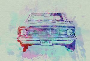 Chevy Camaro Watercolor 2 by NaxArt