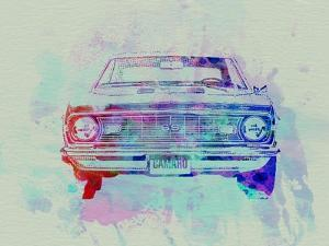 Chevy Camaro Watercolor 2 by NaxArt