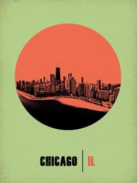 Chicago Circle Poster 2 by NaxArt