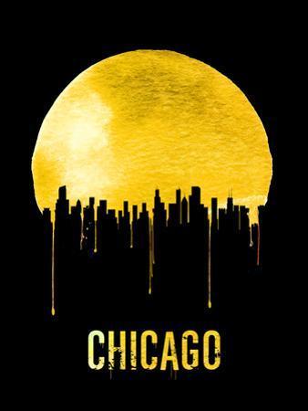 Chicago Skyline Yellow