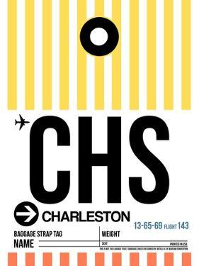 CHS Charleston Luggage Tag II by NaxArt