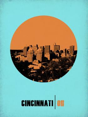 Cincinnati Circle Poster 1 by NaxArt