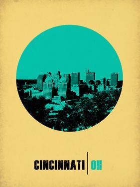 Cincinnati Circle Poster 2 by NaxArt