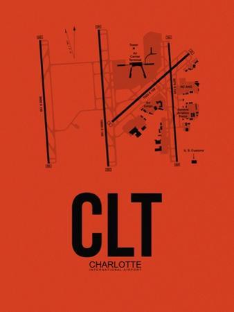 CLT Charlotte Airport Orange by NaxArt