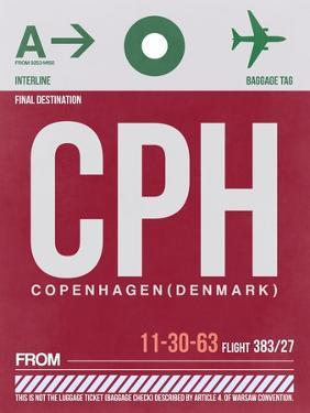 CPH Copenhagen Luggage Tag 2 by NaxArt