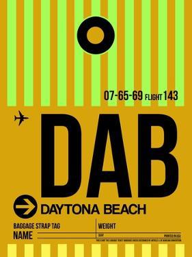 DAB Daytona Beach Luggage Tag I by NaxArt
