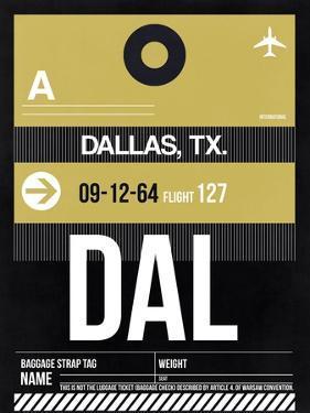 DAL Dallas Luggage Tag 2 by NaxArt