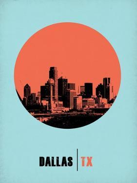 Dallas Circle Poster 1 by NaxArt
