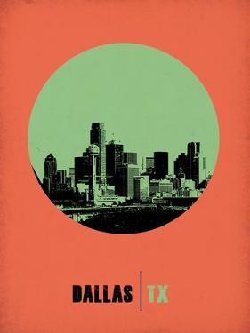 Dallas Circle Poster 2 by NaxArt