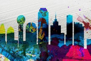 Dallas City Skyline by NaxArt
