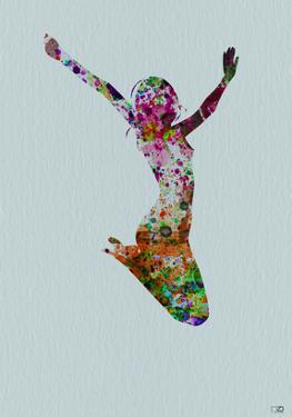 Dancer Watercolor 5 by NaxArt