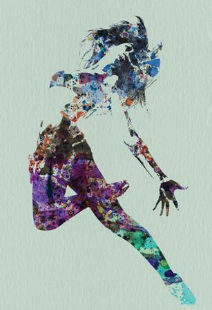 Dancer Watercolor by NaxArt