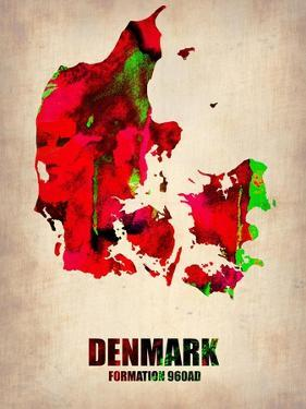 Denmark Watercolor Poster by NaxArt