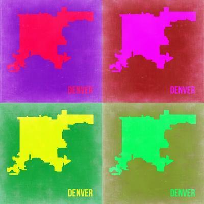 Denver DC Pop Art Map 2