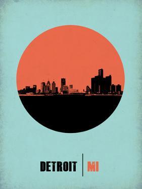 Detroit Circle Poster 2 by NaxArt