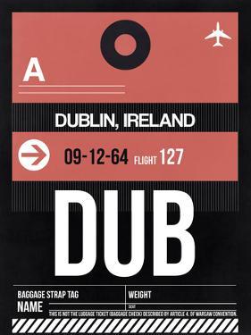 DUB Dublin Luggage Tag 2 by NaxArt