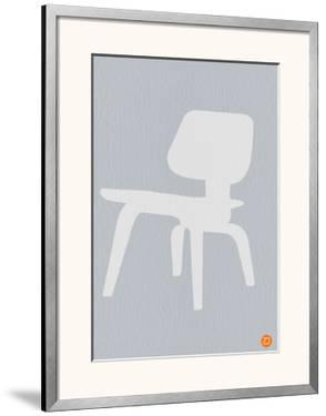 Eames White Plywood Chair by NaxArt