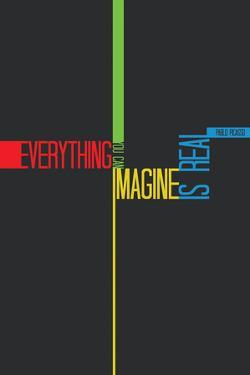 Everything you Imagine Poster by NaxArt