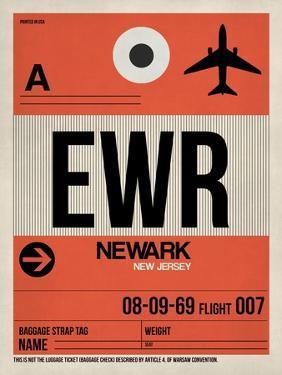 EWR Newark Luggage Tag I by NaxArt