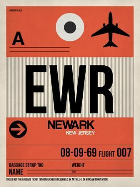 EWR Newark Luggage Tag I by NaxArt