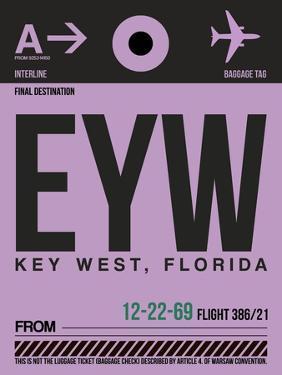 EYW Key West Luggage Tag I by NaxArt