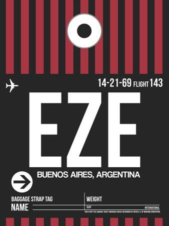 EZE Buenos Aires Luggage Tag II by NaxArt