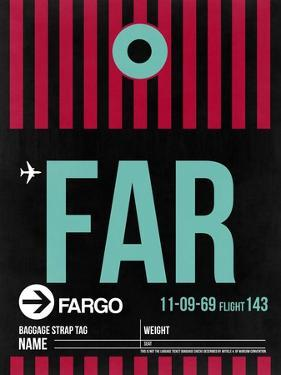 FAR Fargo Luggage Tag I by NaxArt