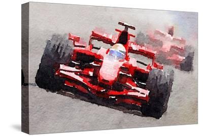Ferrari F1 Race Watercolor