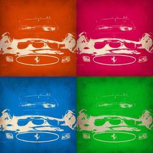 Ferrari Front Pop Art 1 by NaxArt