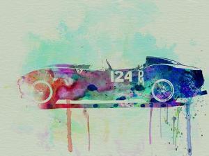 Ferrari Testa Rossa Watercolor 2 by NaxArt